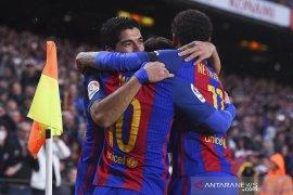 Lionel Messi pilih Neymar kembali ketimbang Griezmann datang