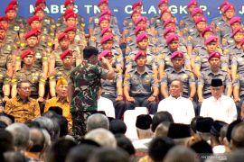 Presiden Jokowi tanda tangani Perpres Jabatan Fungsional TNI