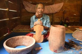 Saidin, seniman Melayu Jambi berjuang melawan tumor