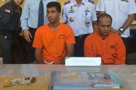Warga AS dan WNI penyelundup narkoba ditangkap