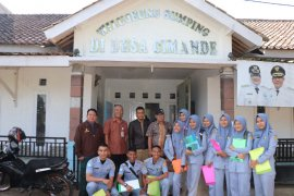 Mahasiswa Polbangtan Bogor praktik identifikasi potensi desa di Kecamatan Caringin