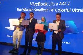 VivoBook A412 ultrabook termungil beraneka warna