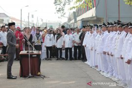 265 pejabat Pemkot dilantik di Stasiun Bogor