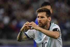 Messi optimistis Argentina  ke babak selanjutnya