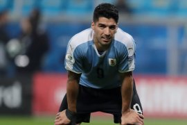 Suarez puji skuat muda Jepang setelah imbangi Uruguay