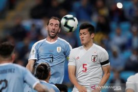 Jepang tahan imbang Uruguay 2-2 di Copa America