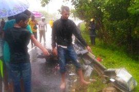 ASN meninggal dunia kecelakaan lalulintas jalan raya Banda Aceh-Calang