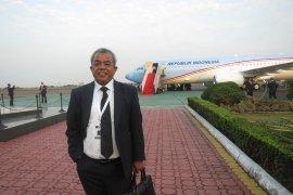 """Lima tahun  pesawat kepresidenan  """"Indonesia One"""""""