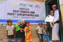 ACT bantu atasi masalah gizi buruk  anak-anak Yaman