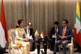 Bertemu Aung Suu Kyi, Presiden berharap repatriasi di Rakhine State aman