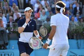 Murray melenggang ke semifinal ganda putra Queen's
