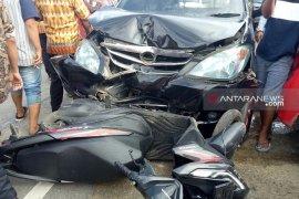Tujuh kendaraan tabrakan beruntun di Jalinsum Mukomuko