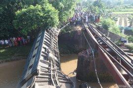 Di Kongo, 50 orang tewas setelah kereta anjlok