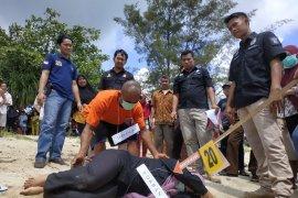 Polres Bangka Tengah limpahkan kasus pembunuhan ke Kejari Koba