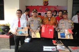 Polres Bogor ungkap delapan kasus pencurian spesialis minimarket
