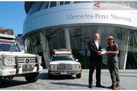 Dua mobil asal Indonesia nampang di Mercedes Benz Museum Stutgart