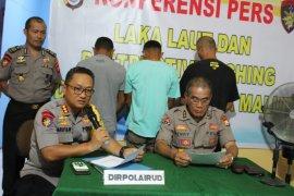 Ditpolairud Malut tangkap tiga tersangka bom ikan