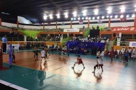 Tim bola voli putra Indonesia raih kemenangan
