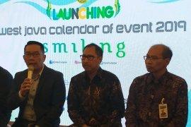 Jawa Barat targetkan 48 juta wisnus dan 1,8 juta wisman