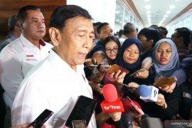 Menko polhukam Wiranto dukung rencana pertemuan Jokowi-Prabowo