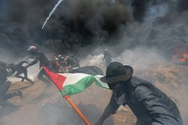 Korban cedera bertambah akibat  tembakan Israel di Jalur Gaza