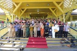 Forkopimda Kalimantan Barat halal bihalal di Istana Kadriah Pontianak