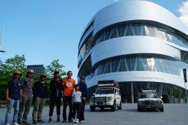Mobil asal Indonesia nampang di Mercedes Benz Museum Stutgart