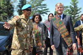 Kunjungan utusan Sekjen PBB untuk Misi Perdamaian