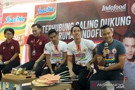 Tiga pemain Persija sapa penggemar di Jakarta Fair