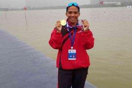 Hebat, atlet dayung Bekasi peroleh dua emas di Thailand