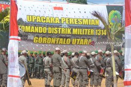 Danrem 133/Nani Wartabone target terbentuk 50 Koramil di Provinsi Gorontalo