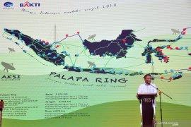 Menkominfo : Palapa Ring Timur sudah selesai