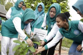 Peringatan HKG PKK di Kutim dirangkai penanaman pohon