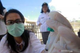 Dinas Pertanian dan Peternakan vaksinasi hewan peliharaan warga Gorontalo