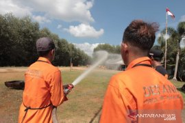 75 relawan di Singkawang ikut pelatihan peduli karhutla