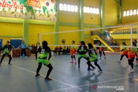 Tim voli putri Medan ke semifinal Porprov