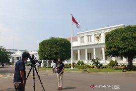 Presiden Jokowi lakukan aktivitas di Istana Jakarta