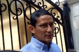 Sandi ke rumah Prabowo untuk bertemu pimpinan partai koalisi