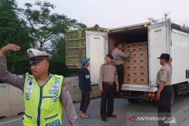 Polres Bogor periksa kendaraan ke arah Jakarta jelang putusan MK
