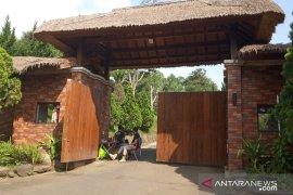 Rumah Prabowo di Hambalang sepi hingga sore hari