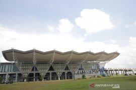 Lahan Bandara Kertajati di Kabupaten Majalengka terbakar