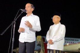Jokowi sebut proses Pilpres sebagai pendewasaan berdemokrasi