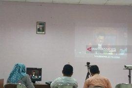 """KPU Jember pantau langsung """"video conference"""" putusan MK"""