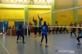 Tim voli putri Medan melaju ke final Porprov Sumut