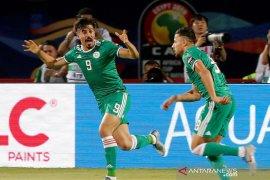Aljazair tundukkan Senegal dan lolos 16 besar Piala Afrika