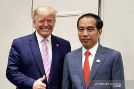 HUT RI, Trump sampaikan pesan demokrasi kepada Jokowi