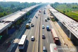 Proyek Jalan Tol Layang Jakarta-Cikampek capai 86 persen