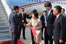 Wamenlu Jepang sambut kedatangan Jokowi di Osaka