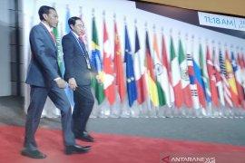 Presiden Jokowi disambut hangat PM Jepang Shinzo Abe