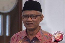 Ketum PP Muhammadiyah  ucapkan selamat untuk dua pasangan capres/cawapres